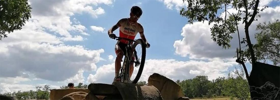 Karl Markt Dritter bei Cross Country in Mesto Touskov